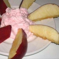 Pink Lemonade Fruit Dip