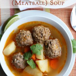 Albondigas Soup recipe