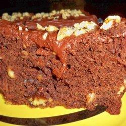 Walnut Brownie Loaf  W/Cocoa Fudge Frosting