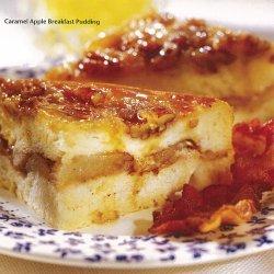 Caramel Apple Breakfast Pudding