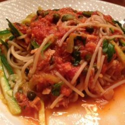 Olive Garden Spaghettini With Tuna