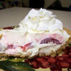 Decadent Strawberry Cream Pie
