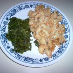 Tuna or Salmon Casserole