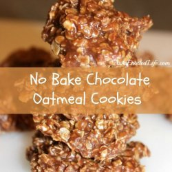 No-Bake Oatmeal Cookies