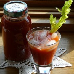 Aunt Ione's Bloody Mary Mix (Canning)