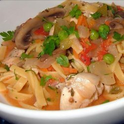 Chicken and Noodle Stew
