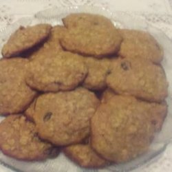 Gluten Free Vegan Sugar Free Oatmeal Cookies