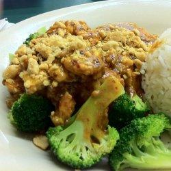 Thai Pra Ram Chicken
