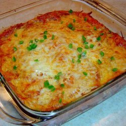 New Mexico-Style Red Chile Enchiladas recipe