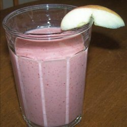 My Little Smoothy With Grapes