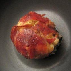Award Winning Stuffed Baby Portabella Mushrooms (Cremini) recipe