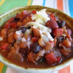 Holy Mole Frijoles (Three Bean Mole)