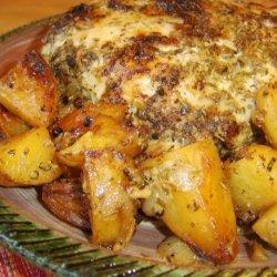 Pork Shoulder Roast With Potatoes
