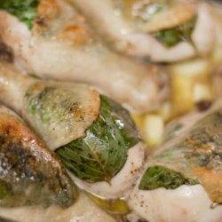 Roast Chicken Legs With Basil and Garlic-Core Ww Friendly