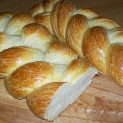 Jane's Challah Bread (Using Food Processor)