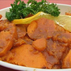 Sweet and Spicy Yams