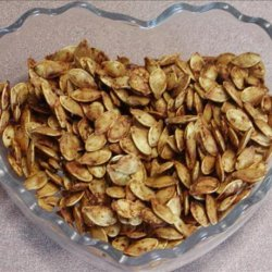 Roasted Pumpkin Seeds With a Kick from Kim! recipe