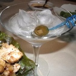 Bombay Blue Sapphire  Martini- Sunday Mart Marts