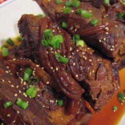 Crock-Pot Asian-Sesame Pork Ribs