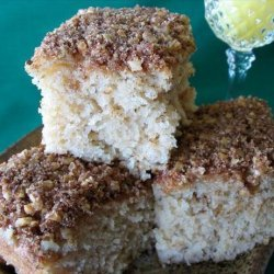 Quick Cinnamon Streusel Coffee Cake
