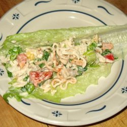 Oodles of Noodles Chicken Salad