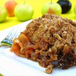 Apple and Mixed Fruit Crisp