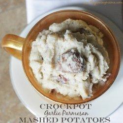 Crock Pot Parmesan Potatoes