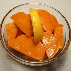 Sweet Potato and Lemon Salad