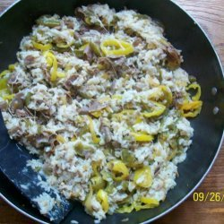 Christine's Cheesesteak Rice recipe