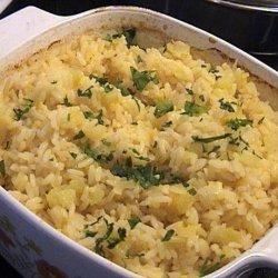 Oven Baked Orange Rice
