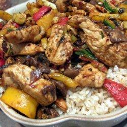 Spicy Cashew Chicken Stir Fry
