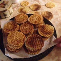 Belgian Lukken waffle cookies