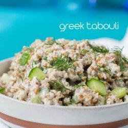 Greek Bulgur Salad