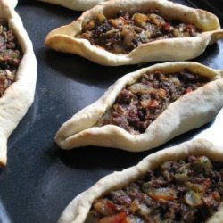 Stuffed Pide (Turkish Pizza)