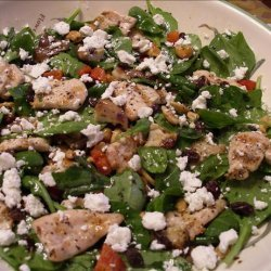 Grilled Chicken and Shiitake Mushroom Salad