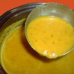 Carrot Dill Velvet Soup