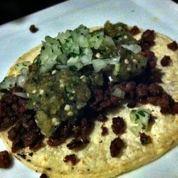 Vegetarian Chorizo Tacos
