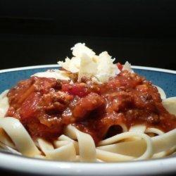 Grandma's Crock Pot Spaghetti Sauce