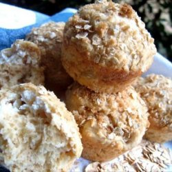 Oatmeal Cream Cheese Muffins
