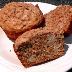 Pear Bran Muffins recipe