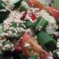 Really Fresh Raw Quinoa Salad (Raw, Vegan, Gluten Free) recipe