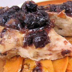 Cranberry Chicken With  Sweet Potatoes