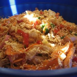 Chicken Salad With Rice Noodles