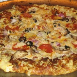 Cheese Stuffed Crust Pizza