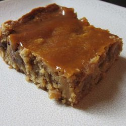 Easy and Fast Caramel Bars recipe