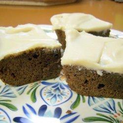 Irish Brownies With Irish Cream Frosting