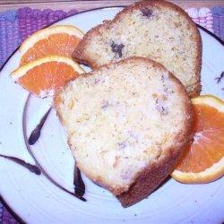 Simple Orange Banana Bundt Cake