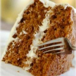 Carrot Cake with Maille(R) Old Style Mustard