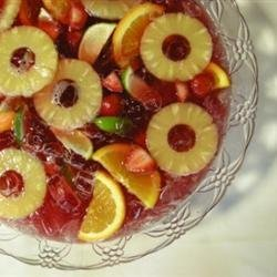 Tart and Bubbly Wedding Punch recipe