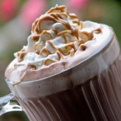 Peanut Buttercup Hot Chocolate